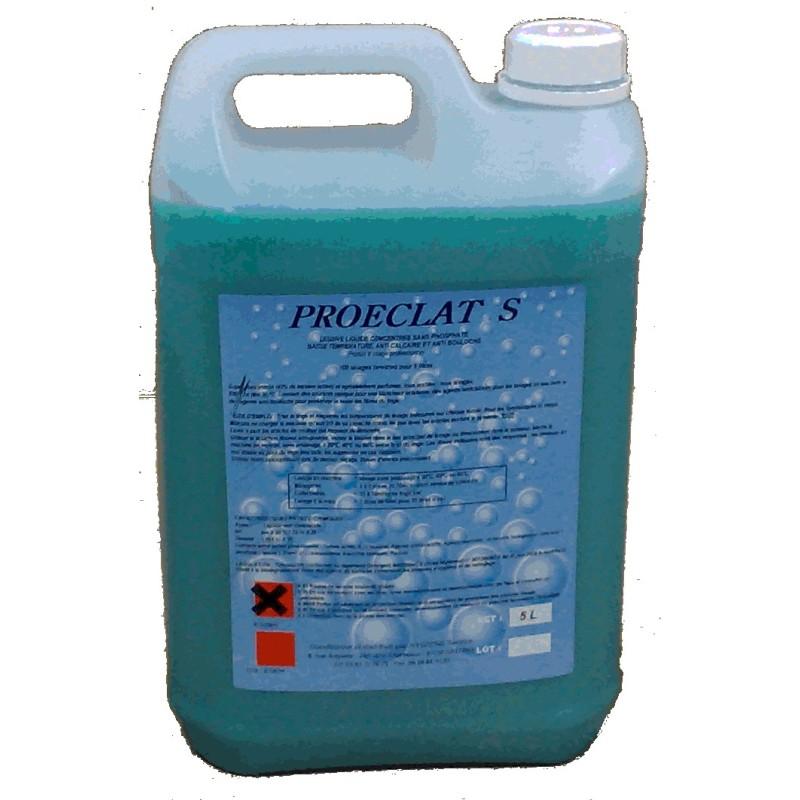 Lessive liquide basse température sans phosphate