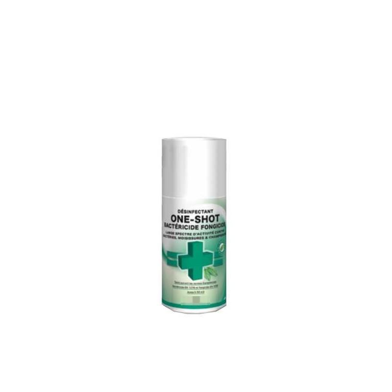 Désinfectant bactéricide fongicide percutable