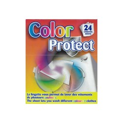 Lingettes anti décoloration